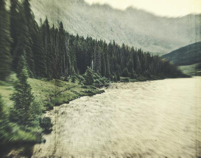 water edge path