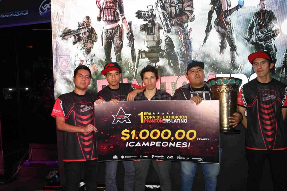 Elite Wolves ganador del Torneo Phantomers
