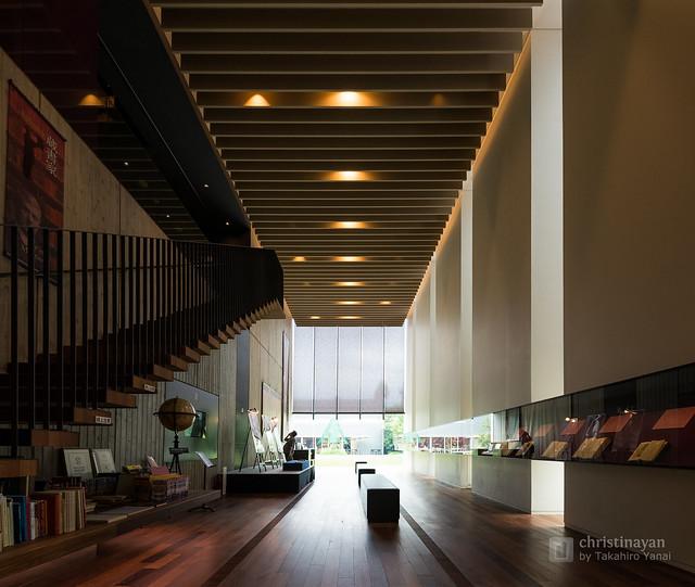 Indoor of Toyo Bunko Museum (東洋文庫ミュージアム)