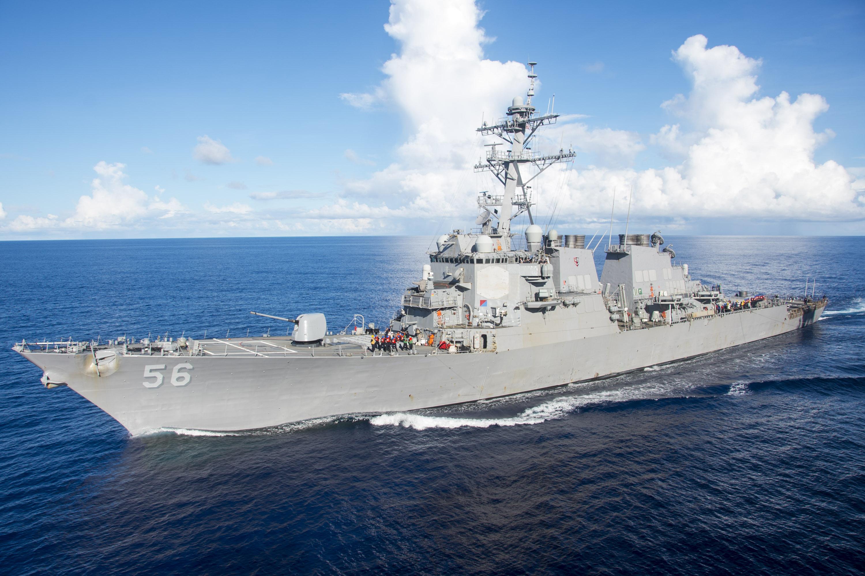 USS John S. McCain collides with merchant ship near Strait of Malacca