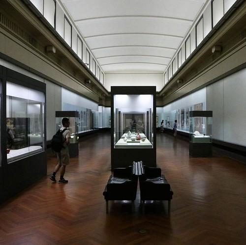 レトロとモダンが程よく調和した館内。 #東京国立博物館本館