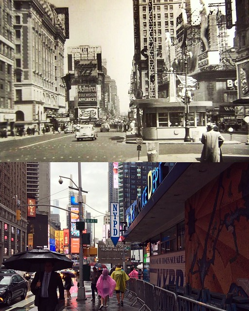 Times Square (North) - 1950 - 2017