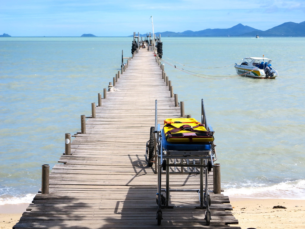 Barco hacia Koh Phangan