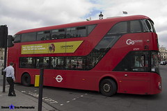 Wrightbus NRM NBFL - LTZ 1277 - LT277 - Deptford Bridge 453 - Go Ahead London - London 2017 - Steven Gray - IMG_0291