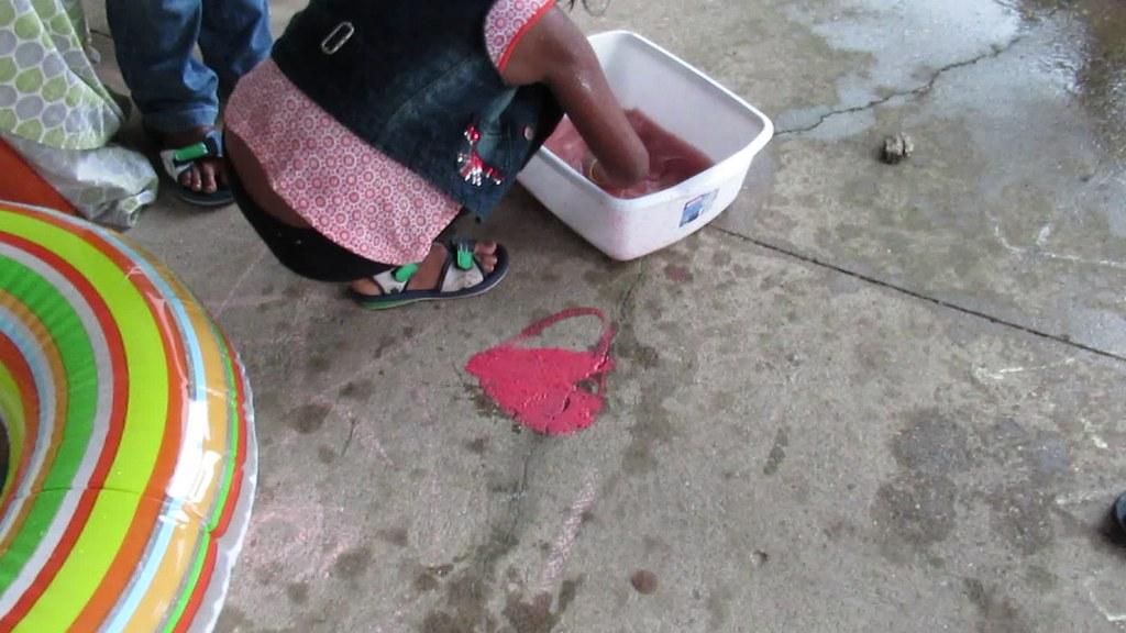Wild Rumpus Week 9: Water + Chalk