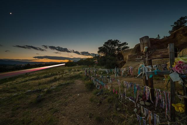 US 160 Roadside Shrine, Nikon D600, Sigma 12-24mm F4.5-5.6 II DG HSM