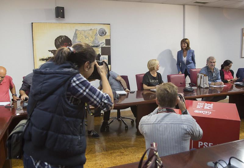 Desayuno informativo con Idoia Mendia en el inicio de curso