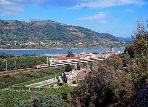 Als noch Schnellzüge durchs Rhônetal fuhren