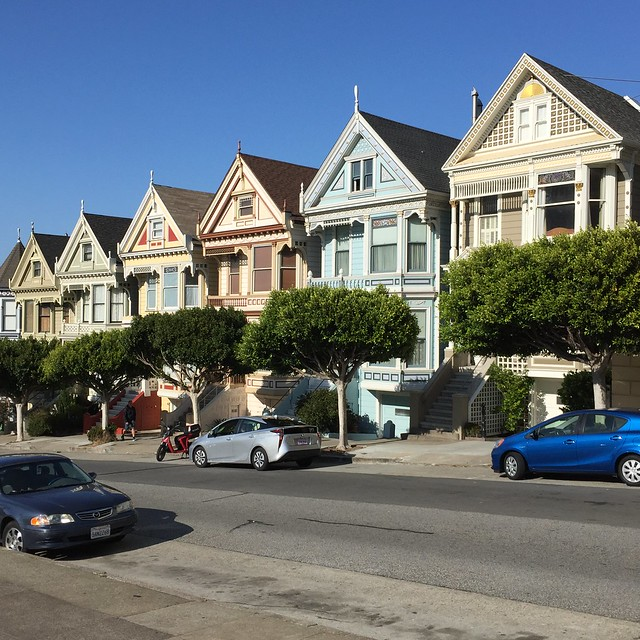 Painted Ladies Street View