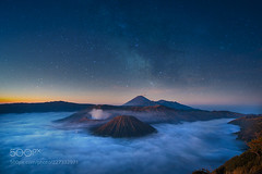 Starry Night Bromo on Ratno Wistu's Flickr