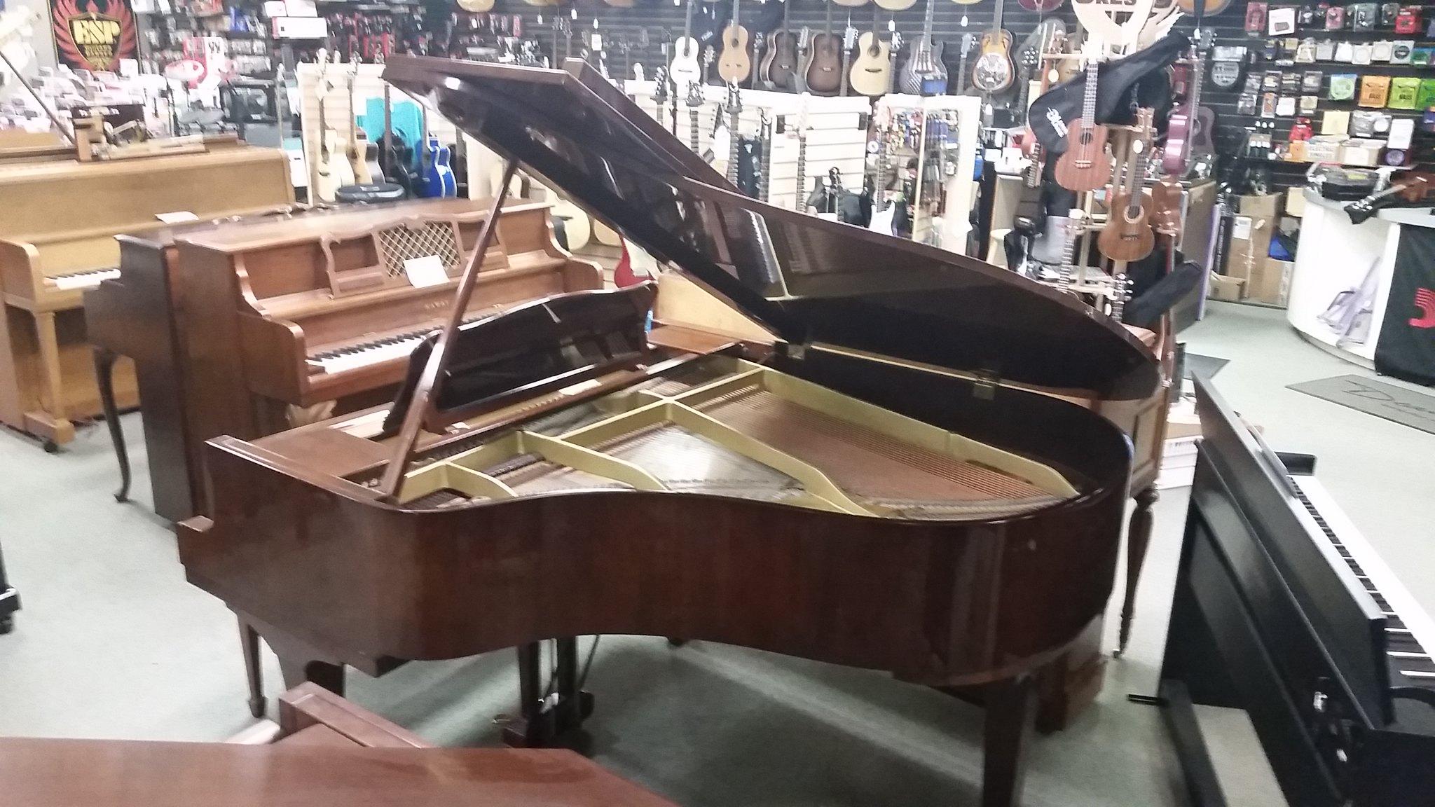 Yamaha grand piano model G2 mahogany finish