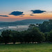 Waiting for the sunrise, Montgomery Castle, Powys by christaff1010