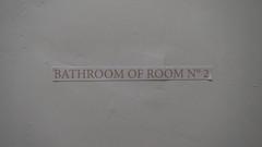 Bathroom of Room No. 2