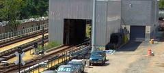NYCT IRT Corona Yard - Car Wash Facility