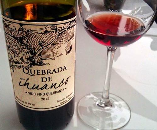 Vino Quebrada de Ihuanco