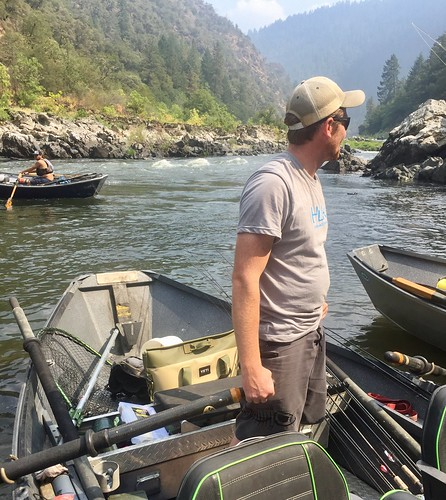 Yeti Hopper Two 40 on Rogue River Willie Boat