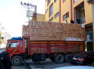 Little Overloaded Lorry? But very comfortable loading zone