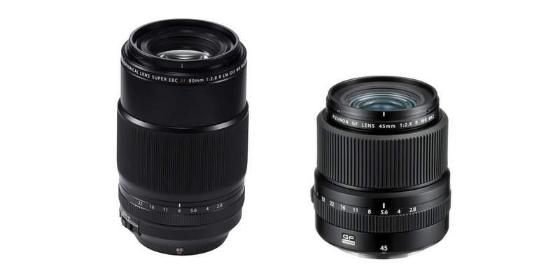Fujifilm a dévoilé les objectifs 80mm f/2.8 R LM OIS WR Macro et GF 35mm f/2.8 R WR