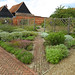Herbs in the walled garden, Cressing Temple Barns, Essex