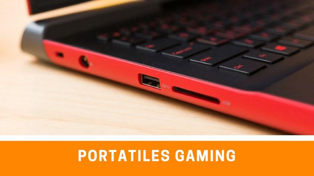 Portatil Gaming recomendados para comprar