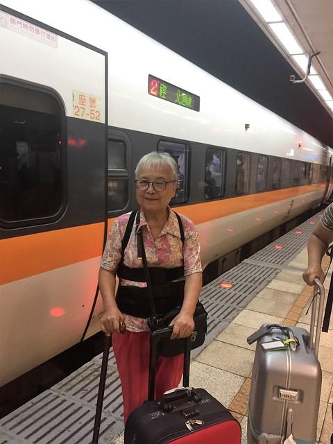 搭乘普悠瑪火車 (2)