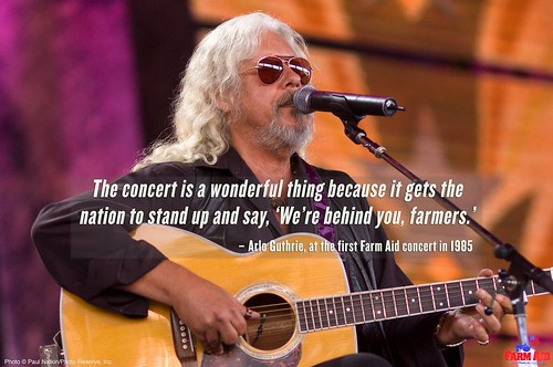 With Hurricane Harvey's destruction causing hardship for family farmers and ranchers in Texas and Louisiana, and wildfires raging in the West, it's reassuring that Farm Aid provides a platform for artists and music fans to tell farmers that we stand with