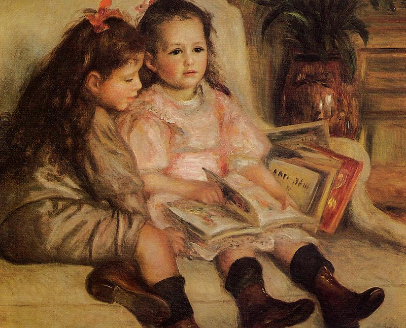 The Children of Martial Caillebotte by Pierre Auguste Renoir, 1895