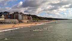 Surfers at Boscombe