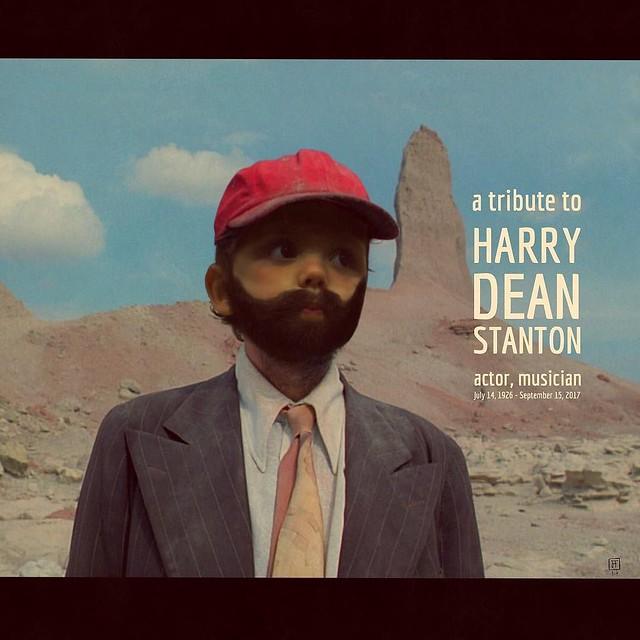 Tribute to Harry Dean Stanton (Magenta honoring actor Harry Dean Stanton) #tribute #tributetoharrydeanstanton #inlovingmemory #inlovingmemoryofharrydeanstanton #harrydeanstanton #magentahonors #overapp #procreateapp #pixlr #ipadart #ipadillustration #ipad