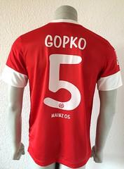 Eugen Gopko, 1. FSV Mainz 05, match worn shirt