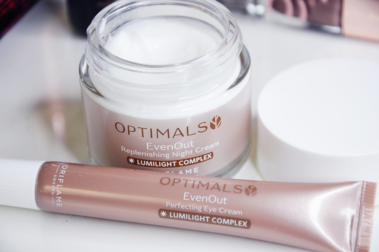 Orflame Even out Perfecting ey cream and night cream review