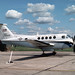 Beech C-12A Huron 76-0166 Alconbury 14-8-82