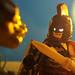 Batman the Warrior by Legostudio01
