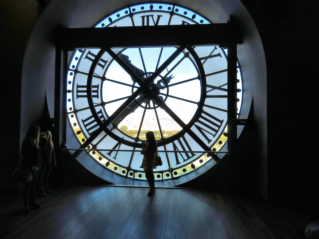 Clock, Musee d'Orsay, Paris France
