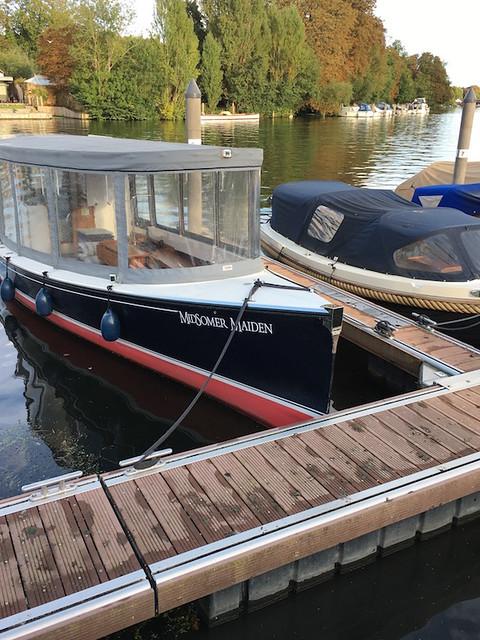 Midsomer boat