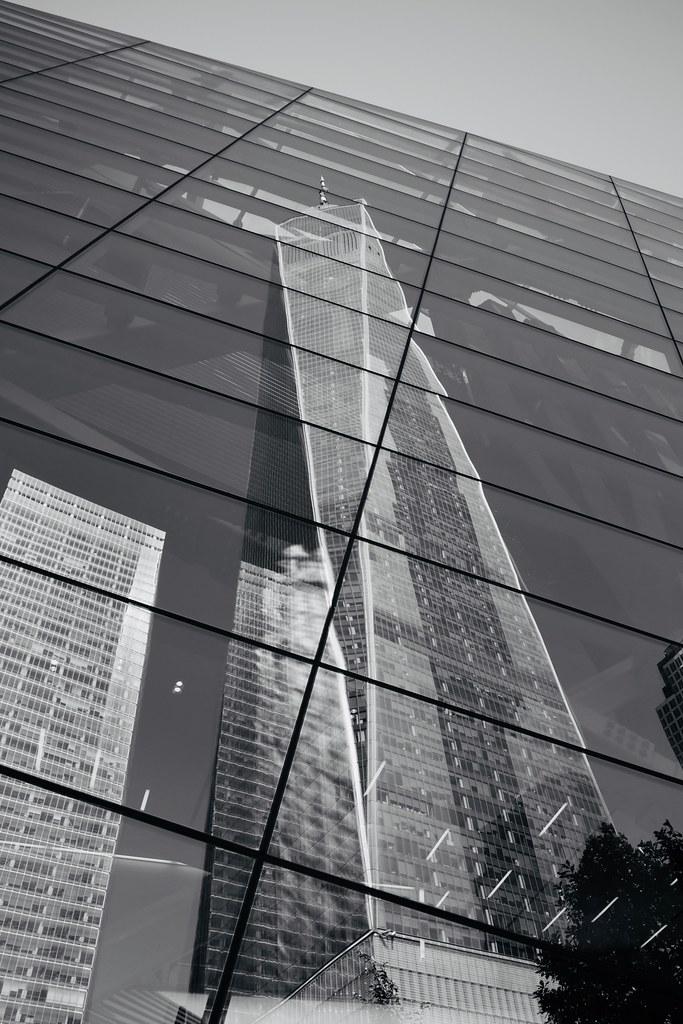 One World Trade Center reflectedF0286