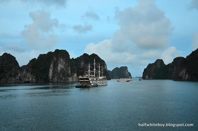 halfwhiteboy - halong bay cruise 32