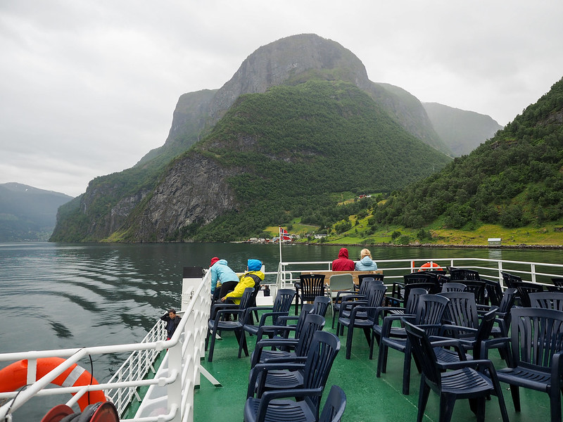 Ferry ride in Norway