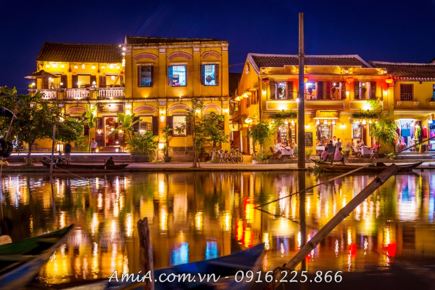 Hinh anh pho co hoi an ve dem dep lung linh chat luong cao AmiA
