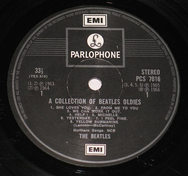 "BEATLES COLLECTION OF BEATLES OLDIES UK 12"" Vinyl LP"