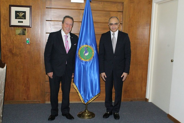 Secretario General del SICA, Vinicio Cerezo y Secretario General de SIECA, Melvin Redondo buscan sinergias para mejorar resultados de la Integración Centroamericana