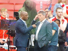 Ian Wright & Andy Townsend