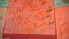 Robin Williams Handprints