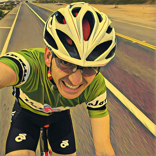 Soloist on the return from Carlsbad. VeloNutz Saturday Dawn Patrol 🚴 . . #cycling #velonutz #sandiego #roadbike @champsys @rudyprojectna #prisma #coast #solo #soloist #dawnpatrol #summer