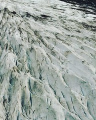 (#droneview) #Vatnajökull (Icelandic pronunciation: [ˈvaʰtnaˌjœːkʏtl̥]), also known as the Water #Glacier in English, is the largest and most voluminous #ice cap in #Iceland, and one of the largest in area in Europe. It is the second largest glacier in a