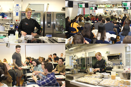 Mexican cuisine demonstration with chef Pati Jinich at le Cordon Bleu