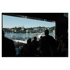 Pre concert drink at Lucerne Festival Leica Q . #leicaQ #leica #leicacamera #leicaqtyp116 #leicacraft #leica_photos #leica_uk #leica_world #leicaphotography #twitter #sunshine #lucerne #switzerland #lake #vierwaldstättersee #kkl #concert @lucernefestival