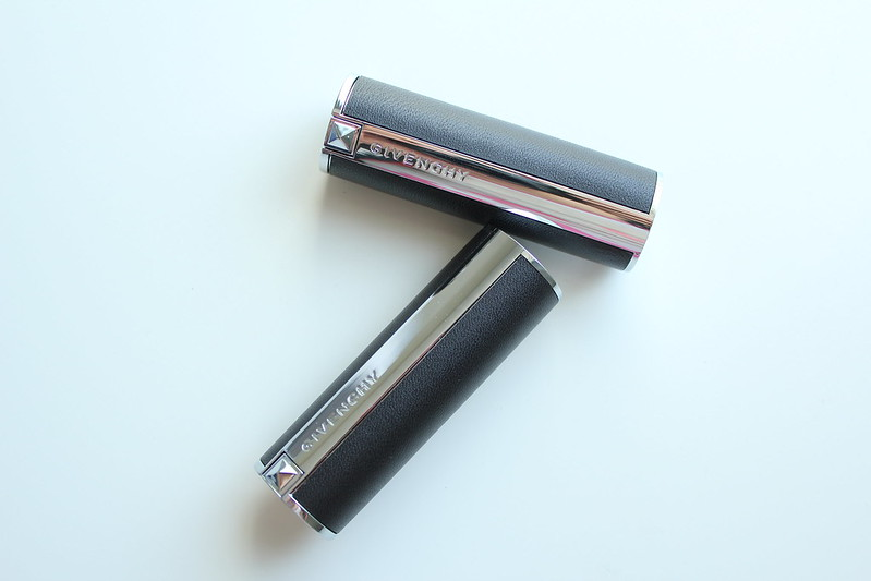 Givenchy Fall 2017 Le Rouge Sculpt, Le Rouge, Noir Interdit Mascara, and Base Mascara Perfecto review
