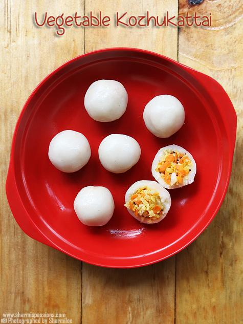 vegetable kozhukattai recipe