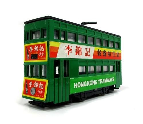 Honk Kong tram toy